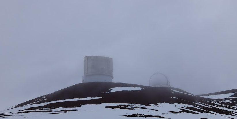 ハワイ島 マウナケア スバル展望台