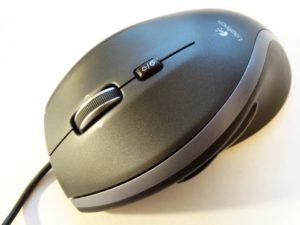 作業をイメージするマウス
